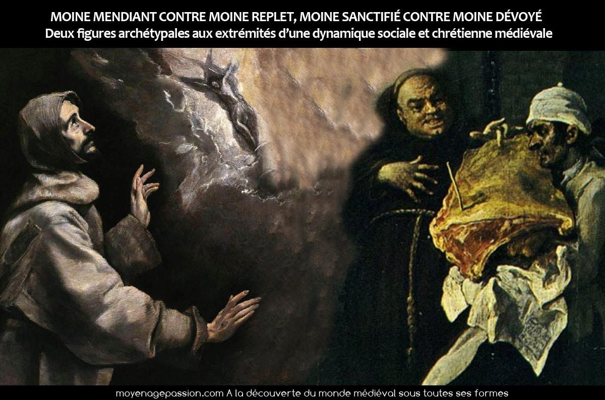 moine_chretien_christianisme_medieval_moyen-age_representations_religieuses_archetypes_opposition_sanctifie_devoye
