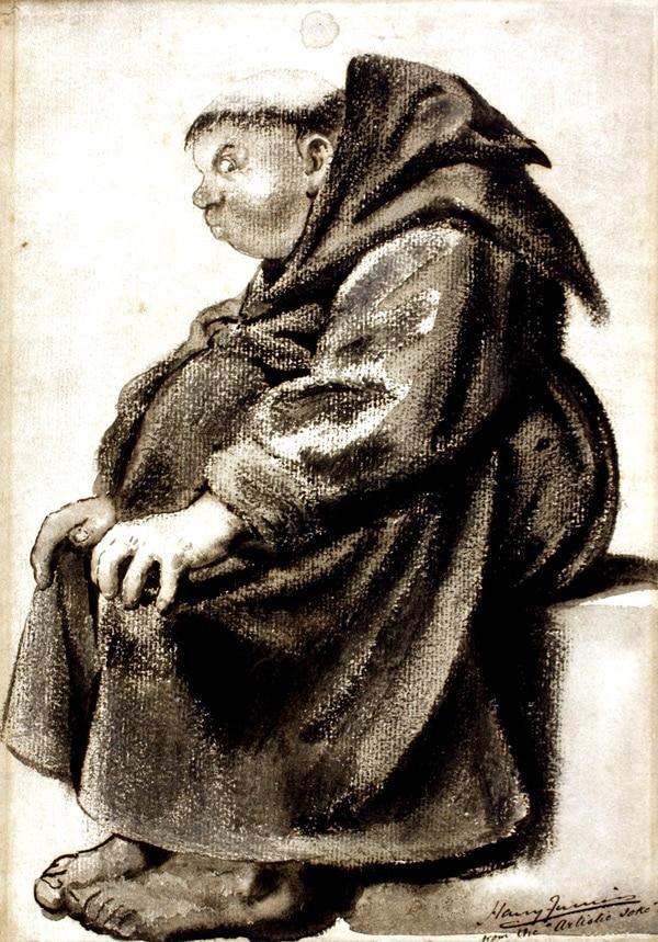 monde_medieval_gravure_satirique_moine_replet_moyen-age_monastique_chrétien
