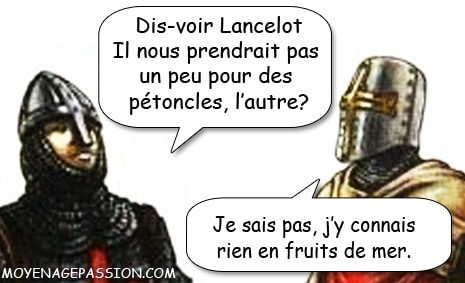 saint_graal_quete_joseph_arimatie_chevaliers_arthur_table_ronde_humour_medieval_serie_audio