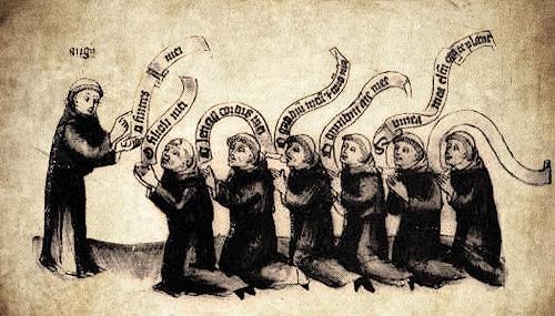 Moyen-âge et exemplarité de la vie monastique: les louanges