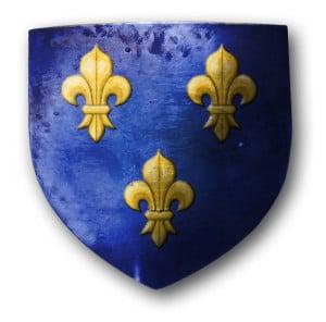 blason_royal_ecu_azur_fleur_lys_couleur_moyen-age_histoire_medievale
