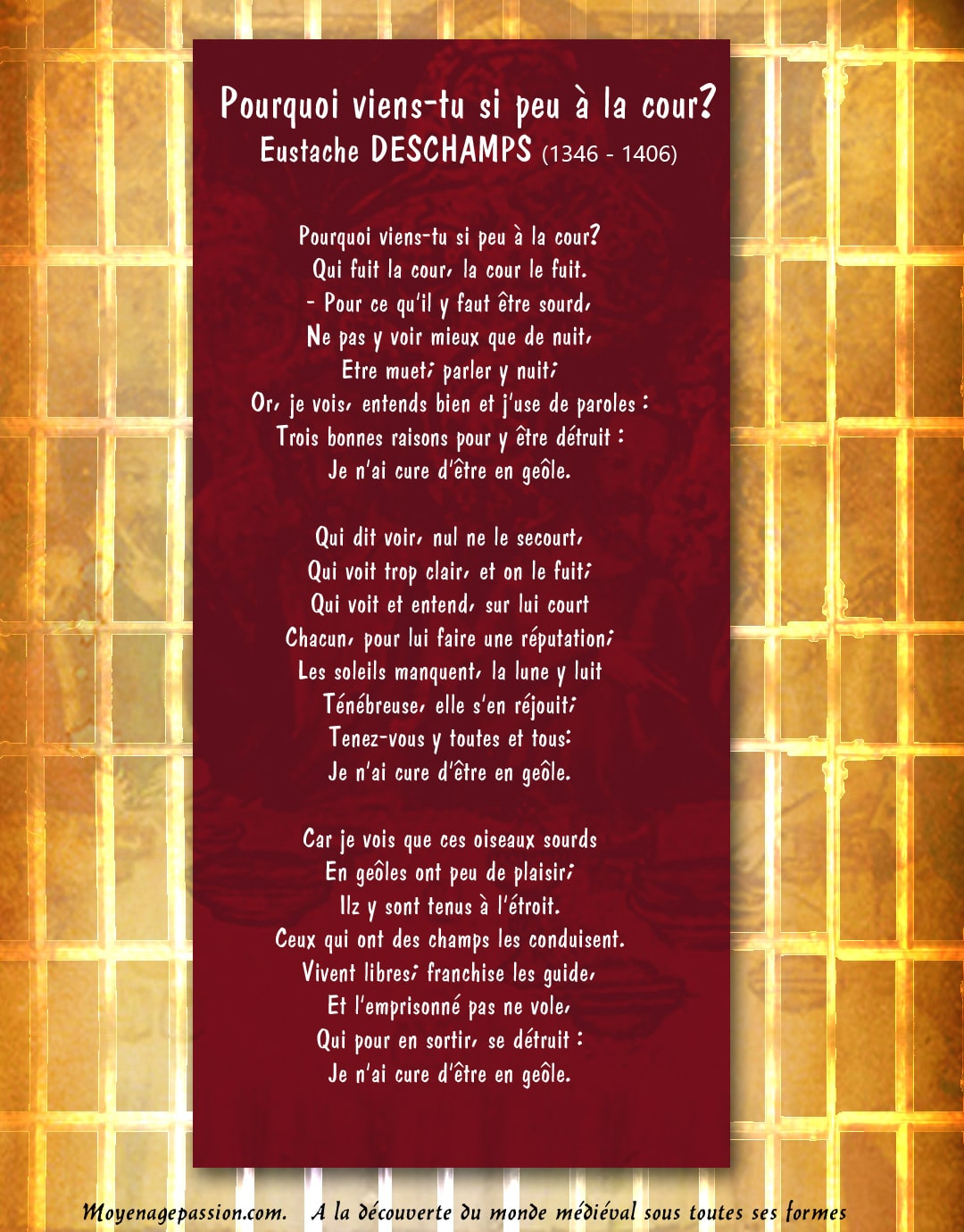 eustache_deschamps_poesie_critique_satirique_morale_medievale_moyen-age_tardif_XIV_la_cour