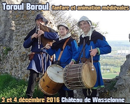 fetes_marche_noel_animations_compagnies_medievales_Toroul_Boroul_chateau_wasselonne_idees_sorties