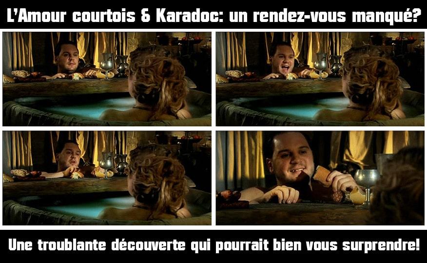 kaamelott_revelation_amour_courtois_karadoc_dame_mevanwi_tristan_iseult_humour_medieval