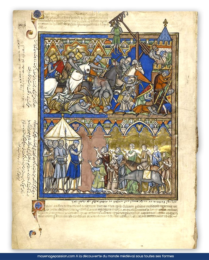 A la d couverte d un manuscrit ancien du moyen ge central - Decoration moyen age ...