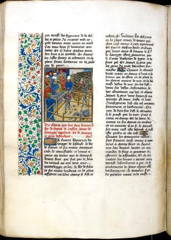manuscrit_ancien_enluminure_duel_judiciaire_monde_medieval_moyen-age_tardif
