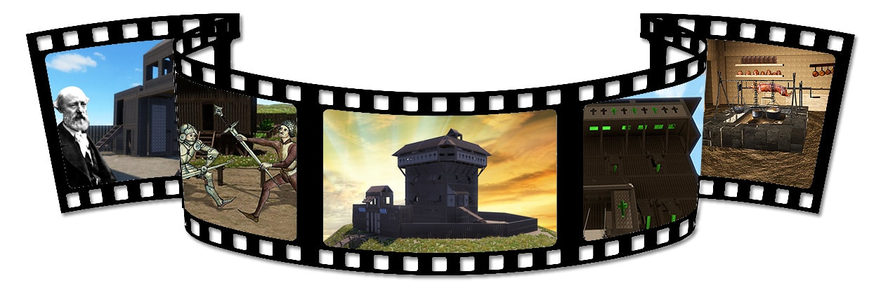 moyen_age_video_documentaire_chateaux_fort_mottes_castrales_monde_medieval_donjon_logis_seugneurial_youtube
