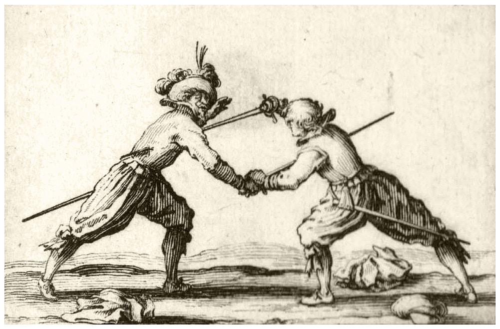 Jacques Callot (1592-1635) le duel à l'épée