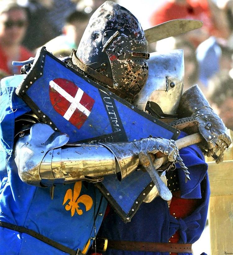 L'étoffe d'un champion passionné de combat médiéval