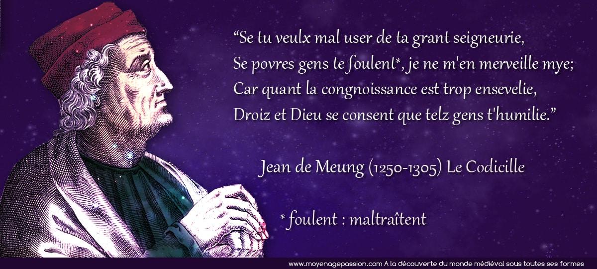 citation_medievale_jean_de_meung_congnoissance_seigneurie_codicille_roman_de_rose_moyen-age_central