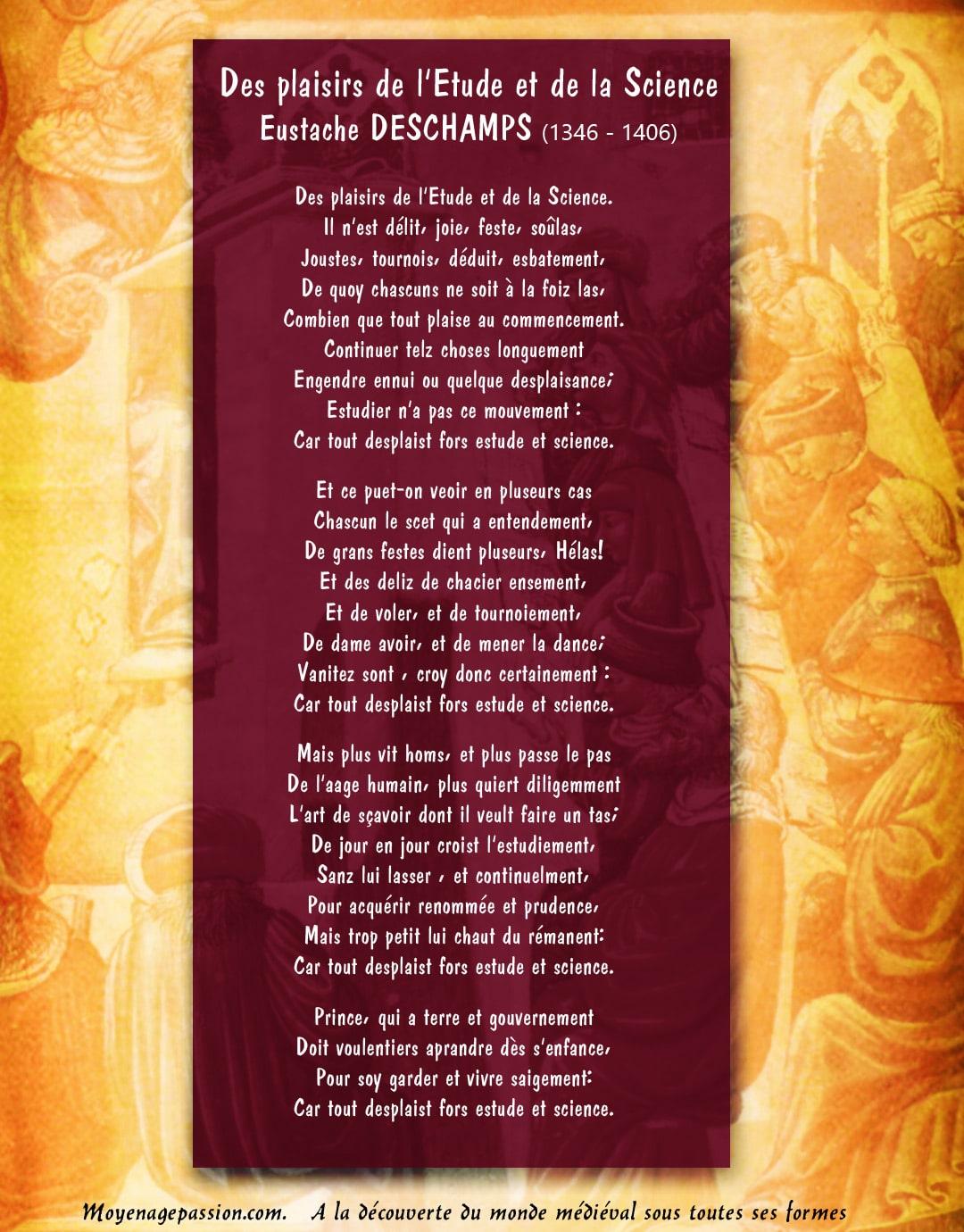 poesie_medievale_ballade_eustache_deschamps_universite_etude_sciences_moyen_age