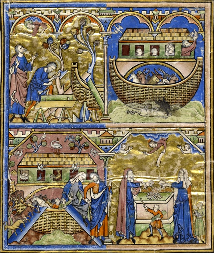 enluminure_moyen-age_noe_histoire_passion_medievale_articles_portail_divertissement_information_moyenagepassion