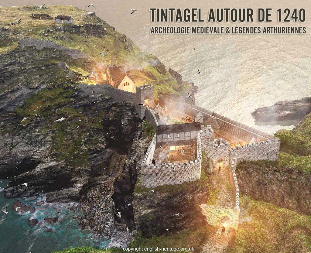 tintagel_chateau_reconstitution_legendes_arthur_archeologie_histoire_medievale_lieu_historique_moyen-age