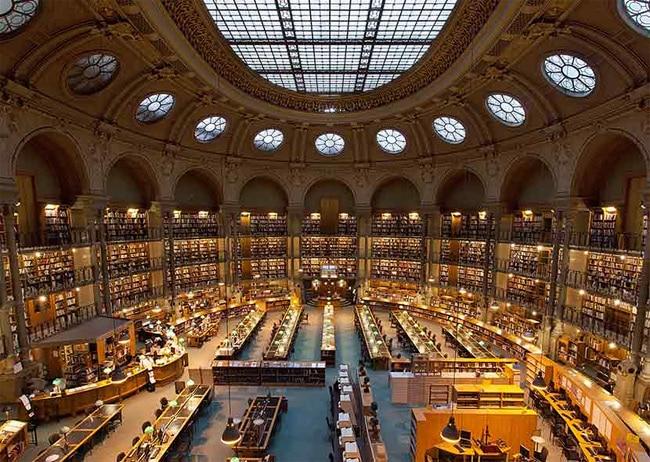 Le site Richelieu de la BNF au coeur des archives françaises