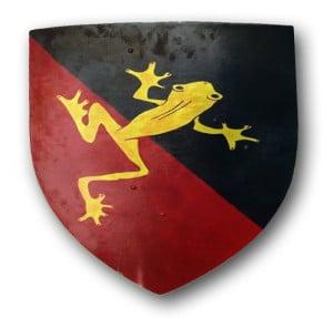 blason_guilde_grenouille_troupe_compagnie_animation_medievale_reconstitution_historique