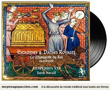 musique_medievale_estampie_danse_manuscrit_chansonnier_du_roy_hesperion_XXI_jordi_Savall_recherche_musiques_anciennes