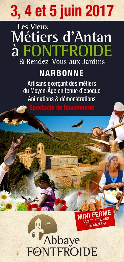 animation_evenement_spectacle_atelier_medieval_decouvertes_metiers_ancien_moyen-age_abbaye_fontfroide_Narbonne