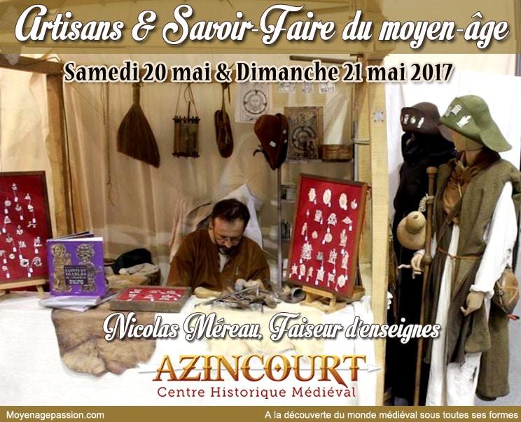 centre_histoire_medievale_azincourt_artisan_medieval_metiers_moyen-age_faiseur_enseigne
