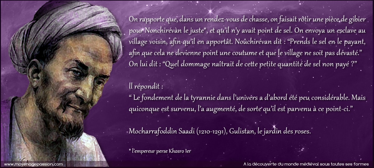 citation_medievale_sagesse_persane_saadi_gullistan_justice_moyen-age_central