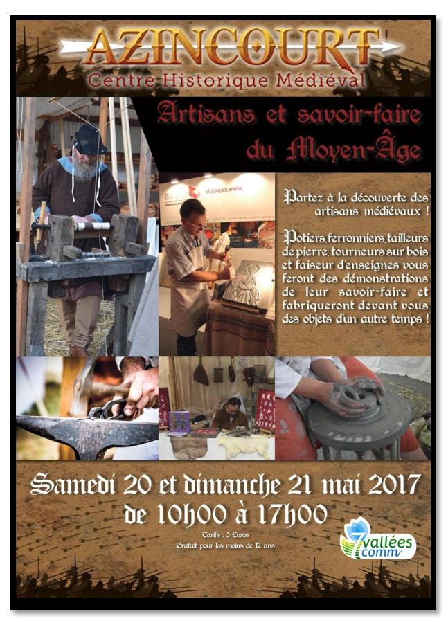 evenement_artisanat_metiers_moyen-age_centre_historique_medieval_azincourt