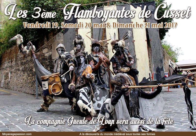 fetes_compagnie_medievales_gueule_de_loup_festival_moyen-age_fantastique_agenda_cusset_flamboyantes_2017