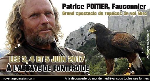 fetes_festivals_evenement_medievales_fauconnerie_spectacles_rapaces_patrice_potier_abbaye_fontfroide