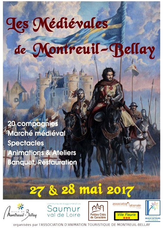 fetes_marché_animation_compagnies_medievales_montreuil_bellay_agenda_sorties_historiques_moyen-age