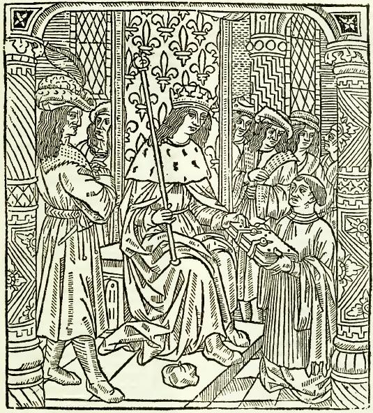 Le jardin des plaisances, gravure, reproduction fac similé de l'édition de 1501