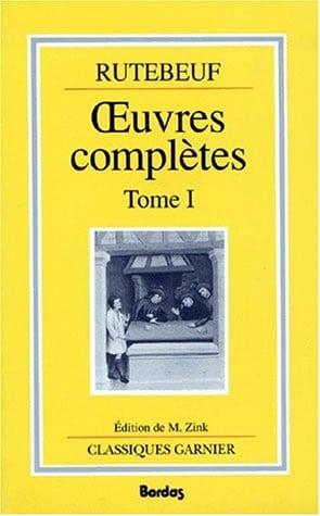 Michel_Zink_medieviste_historien_poesie_medievale_rutebeuf_oeuvres_T1_livres_moyen-age
