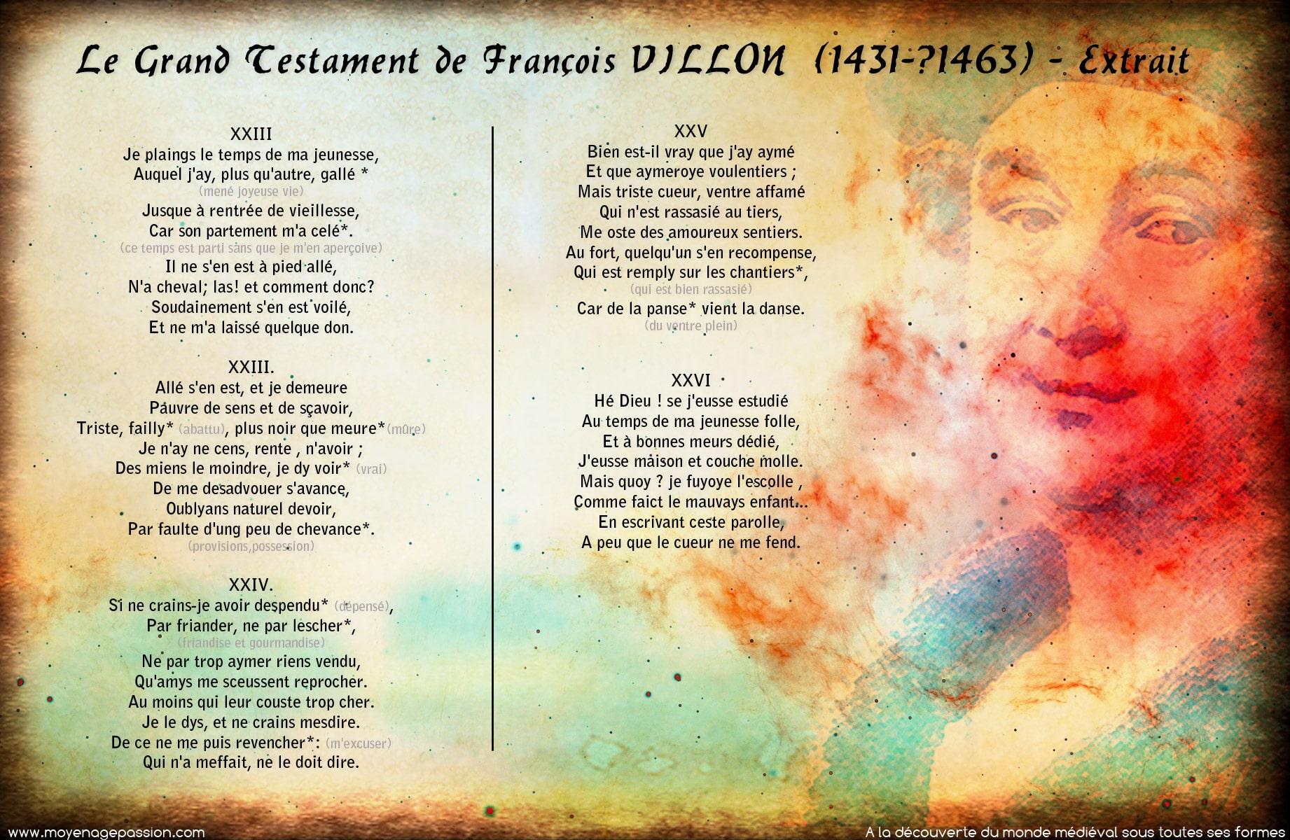 francois_villon_grand_testament_extrait_poesie_medievale_moyen-age_tardif_jeunesse_temps