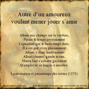 poesie_ancienne_clement_marot_fin_moyen_age_renaissance_passetemps_recreation_triste_ouvrage_ancien_XVIe_grivoiserie