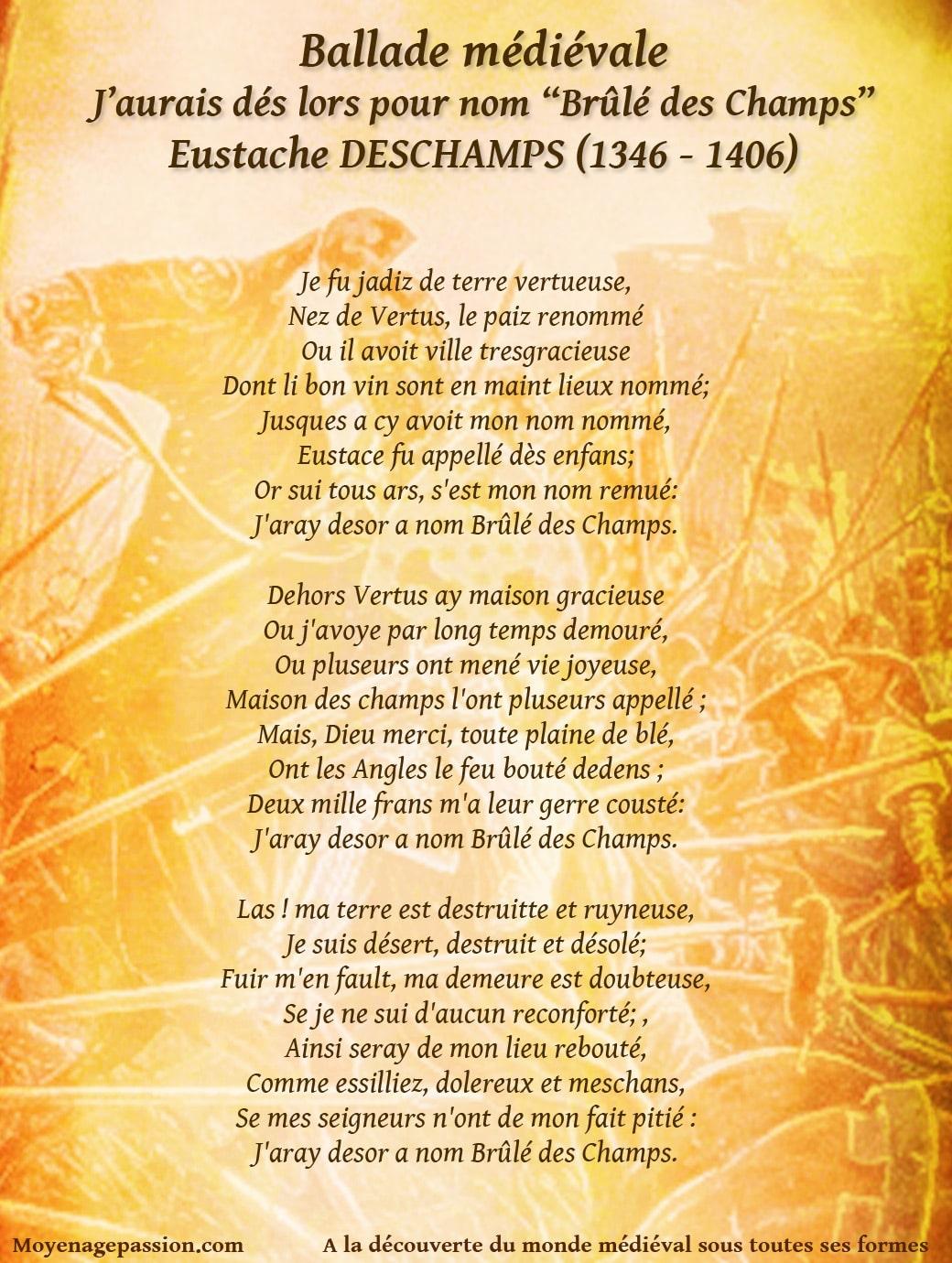 eustache_deschamps_poesie_litterature_moyen-age_ballade_medievale_vertus_plaine_de_champagne_guerre_de_cent_ans