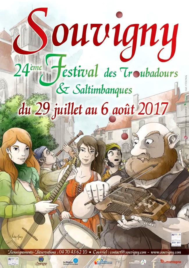 festival_fetes_medievales_souvigny_saltimbanque_troubadours_animations_medievales_auvergne_rhone-alpes