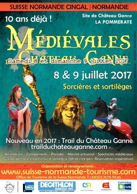 fetes_animations_compagnies_medievales_agenda_sortie_chateau_ganne_calvados_normandiie_la_pommeraye