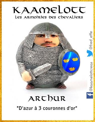 L gendes arthuriennes kaamelott les armoiries des preux - Le cycle arthurien et les chevaliers de la table ronde ...