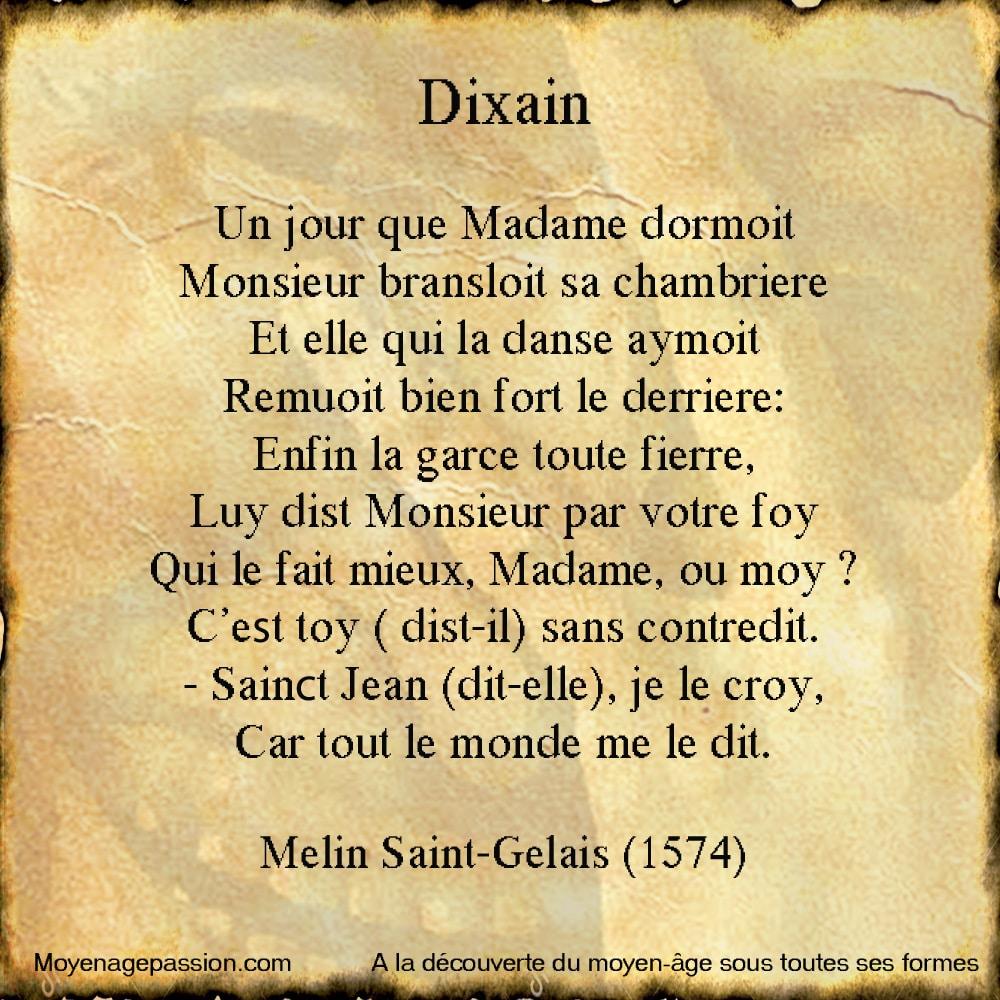 Melin_Saint_Gelais_Gelays_humour_francais_poesie_satirique_gauloiserie_debut_renaissance_moyen-age_tardif_dizain_grivoiserie