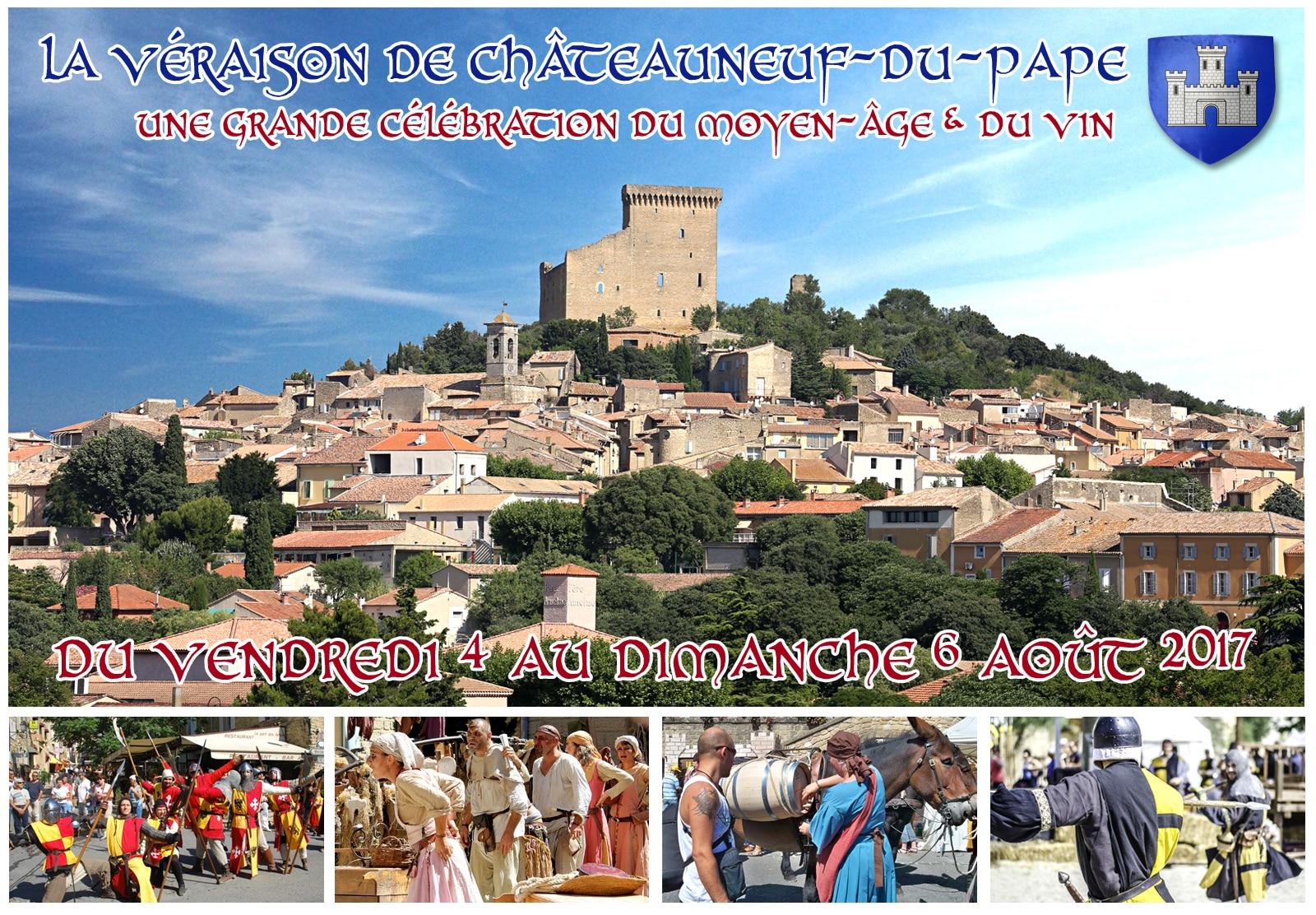 chateauneuf_du_pape_veraison_fetes_vinicoles_festival_animations_medieval_sorties_historiques_moyen-age