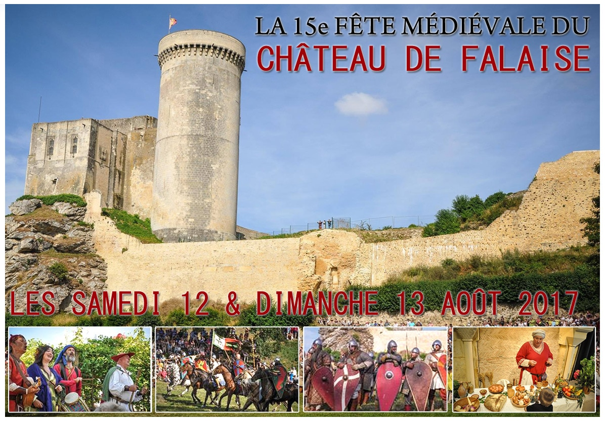 fete_animations_compagnies_marche_medievale_chateau_falaise_normandie