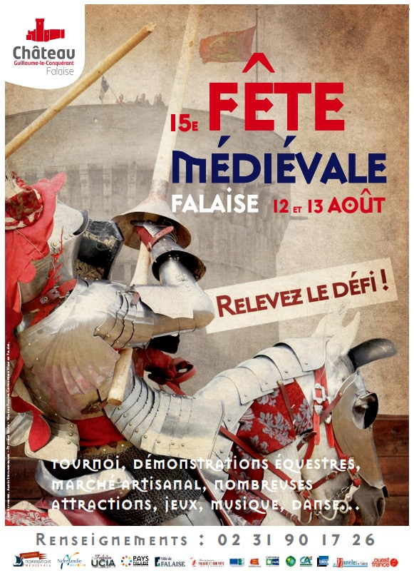 fetes_animations_medievales_chateau_falaise_nomandie_guillaume_le_conquerant