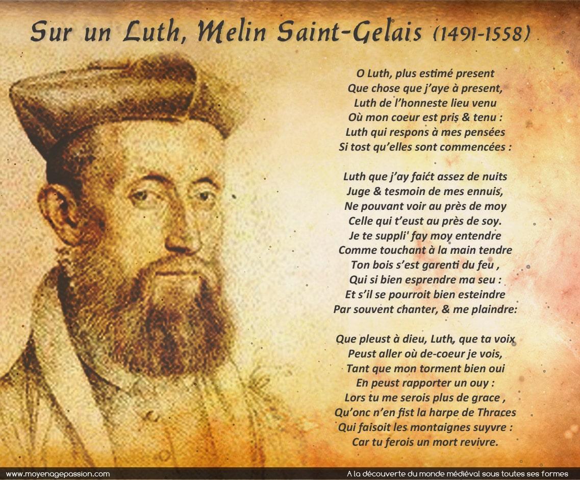 melin_saint_gelais_biographie_poesie_renaissance_epigrammes_luth_instrument_medieval_ancien