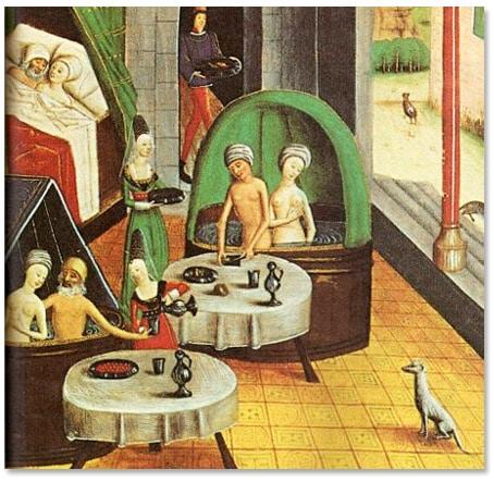 bain_etuver_hygiene_medecine_medievale_manuscrit_enluminure_Valerius_Maximus_XVe