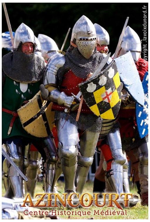 evenement_agenda_medieval_centre_medieval_historique_azincourt_chevalier_XVe_moyen-age_tardif