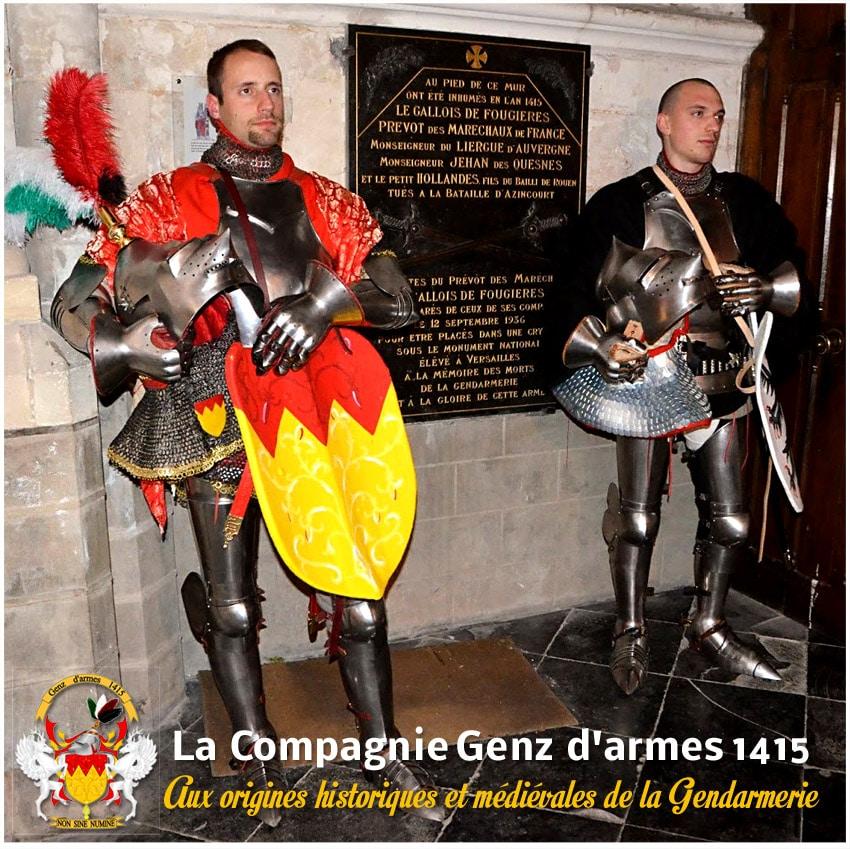 gendarmerie_historique_origine_medieval_genz_armes_1415_azincourt
