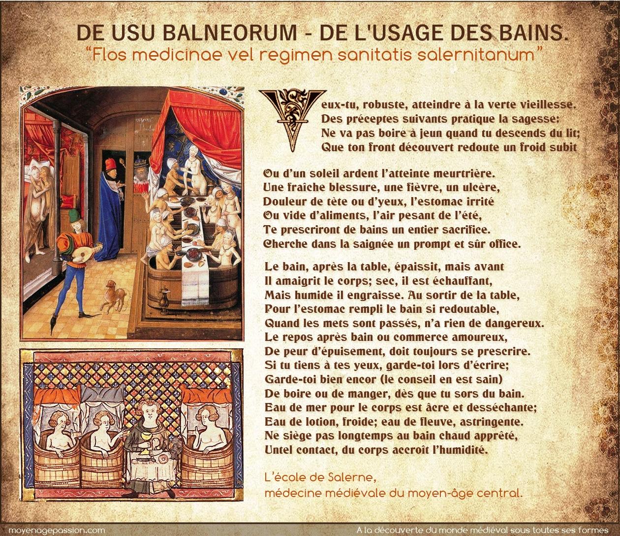 hygiene_medecine_medievale_bains_etuve_ecole_salerne_regimen_sanitatis_citation_poesie
