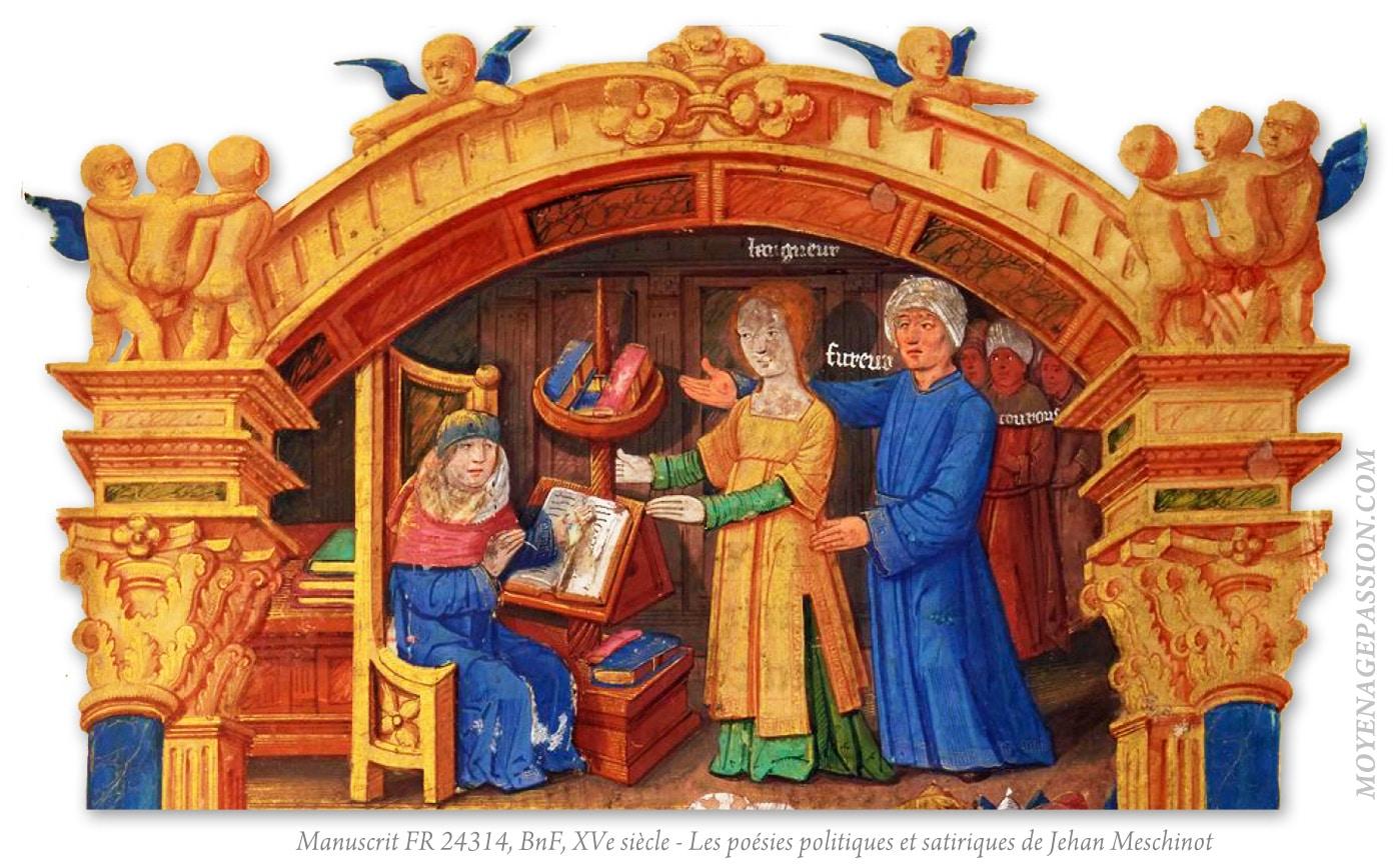 poesie_medievale_breton_jean_meschinot_manuscrit_ancien_24314_XVe_miniature_moyen-age_tardif