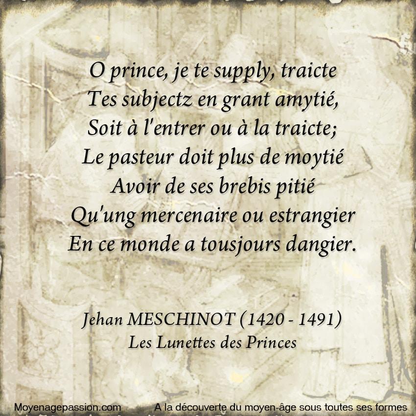 poesie_medievale_politique_satirique_jean_meschinot_poete_breton_moyen-age_tardif_lunettes_princes_pouvoir