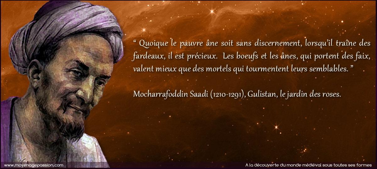 ciation_sagesse_personna_saadi_poete_persan_medieval_moyen-age_central