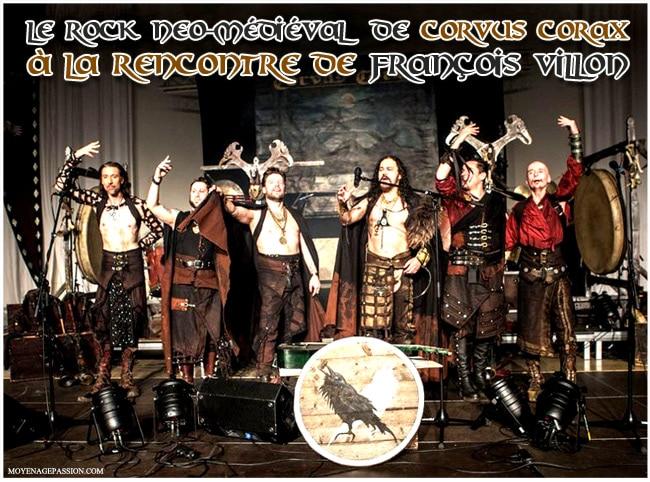 corvus_corax_folk_neo_medieval_allemand_francois_villon_poesie_realiste_XVe_moyen-age_tardif
