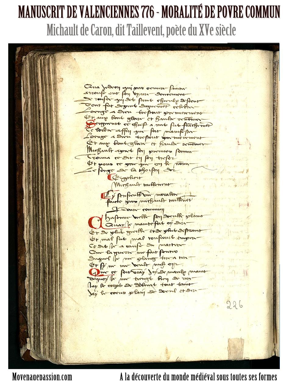 michault_caron_taillevent_poésie_medievale_moyen-age_tardif_manuscrit_ancien_valenciennes_776
