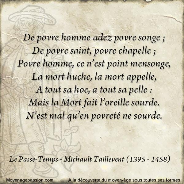 michault_taillevent_poesie_medievale__passe_temps_extrait_moyen-age_tardif_XVe